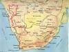suedliches-afrika 2013 Route